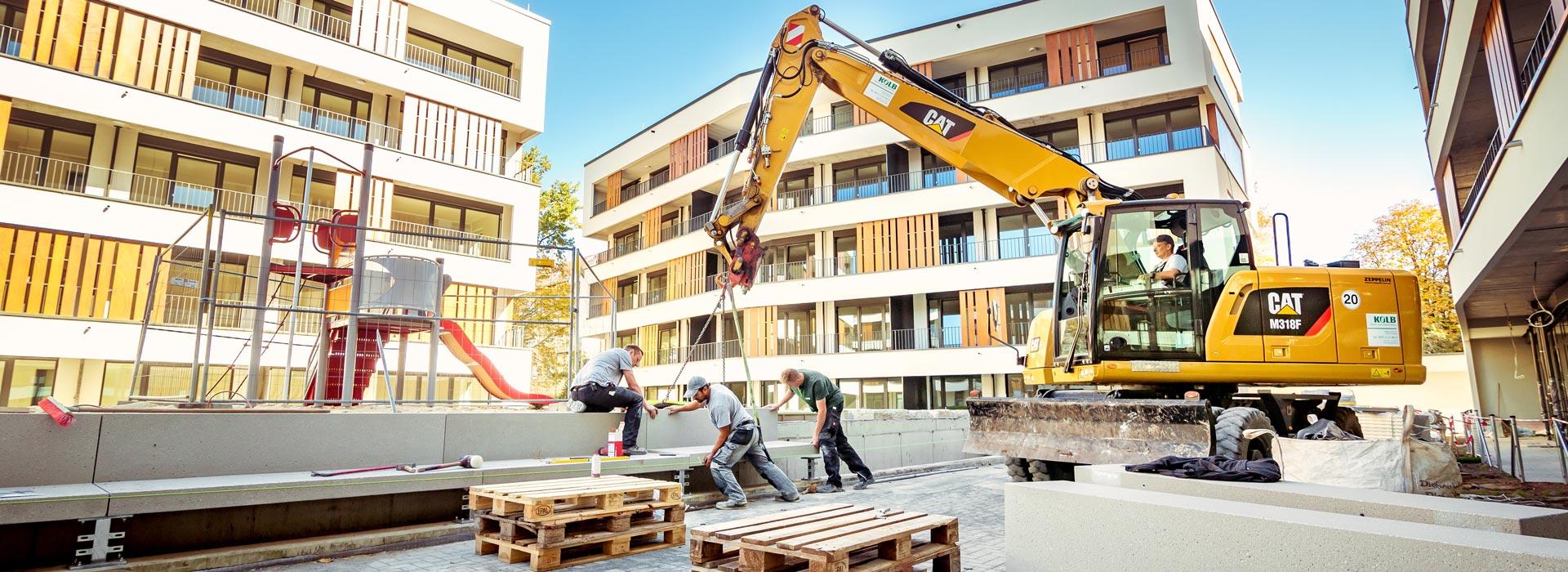 Baustelle - Kolb Garten- und Landschaftsbau