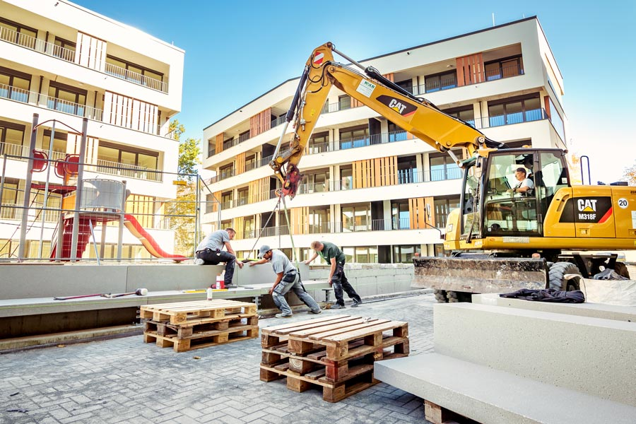 Teamarbeit - Kolb Garten- und Landschaftsbau